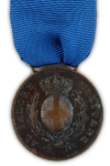 Bronzen Al Valore Medaille