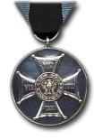 Zilveren Medaille voor Trouw op het Veld van Eer Type II