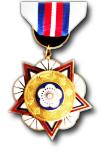 Chinese Landmacht, Marine en Luchtmacht Medaille, Klasse B, Eerste Graad