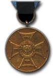 Bronzen Medaille voor Trouw op het Veld van Eer Type II