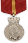 Koninklijke Medaille voor Burgertrouw in zilver