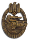 Tank Combat Badge (without number)