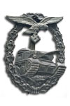 Tank Combat Badge of the Luftwaffe without number