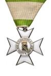 Ridderkruis 2e Klasse van Verdienste van de Koninklijke Saksische Orde van Verdienste
