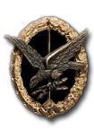 Air Radio Operator & Air Gunner badge