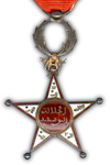 Orde van Ouissan Alaouitte - Ridder
