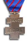Medal for Voluntary Service in the Free French Forces