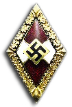 Golden Hitleryouth Honor Badge