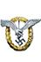 Gemeinsames Flugzeugfuhrer-Beobachter Abzeichen (ohne brillianten)
