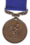 Royal Humane Society Bronzen Medaille