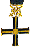 Cross/medal of the Independence of the Underground State