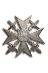 Spanje Kruis, Zilver met Zwaarden