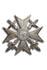 Spanienkreuz, Silber mit Schwertern