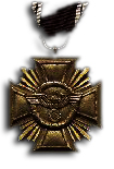 Long Service Award of the NSDAP  10 Years