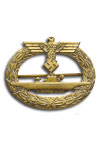 U boat badge (zonder Diamanten)