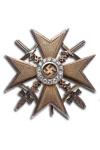 Spanje Kruis, Goud met Zwaarden en Diamanten