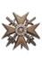 Spanienkreuz, Gold mit Schwertern und Brillianten