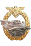 E-Boat badge with diamonds