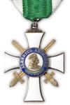 Ridderkruis 2e Klasse der Konijnklijke Saksische Albrechtsorde