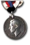Lange- en trouwedienst medaille Koninklijke Reserve Vloot