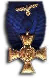 Medaille voor Trouwe Dienst 1e Klasse, 25 jaar