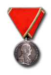 Hungarian Smal Silver Medal of Bravery