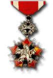 Tsjechoslovaakse Orde van de Witte Leeuw, 3e Klasse