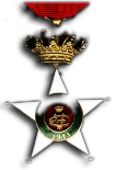 Colonial Order of the Star of Italy - Officer