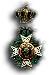 Officier in de Leopoldsorde / Officier de l'Ordre de Léopold