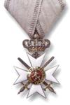 Orde van Moed 3e Klasse, 2 stap
