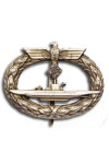 U boat badge met Diamanten
