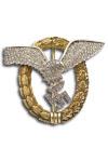 Gezamelijke Piloot-Observatie Badge met Diamanten