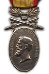Medaille voor Standvastigheid en Trouw 2e Klasse