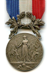 Silver Medal of 2nd Class for deads of courage and dedication