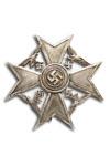 Spanje Kruis, Zilver