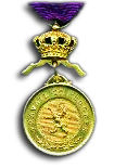 Gold Medal in the Royal Order of the Lion