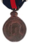 Koning Edward VII Kronings Medaille