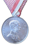 Grand Silver Medal for Bravery (Silver Medal for Bravery 1st Class)