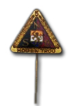 National Socialist Party 5 years Membership Badge