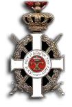 Zilveren Ridderkruis bij de Koninklijke Orde van George I