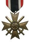 Kruis voor Krijgsverrichtingen 2e Klasse met Zwaarden