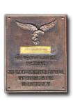 Luftgau XI Bronzen Ereplaat