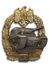 Tankgevecht Badge 4e Graad