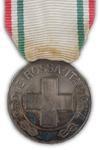 Medaille voor het Italiaanse Rode Kruis - Zilver