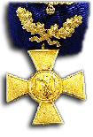 Medaille voor Trouwe Dienst met Eikenloof, 40 jaar