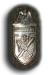Narvikschild in Silber