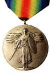 Overwinningsmedaille voor de Eerste Wereldoorlog