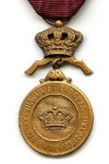 Bronze Medal in the Order of the Crown