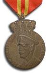 Haakon VII's 70e Verjaardag Medaille