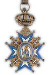 Orde van St. Sava 2e Klasse
